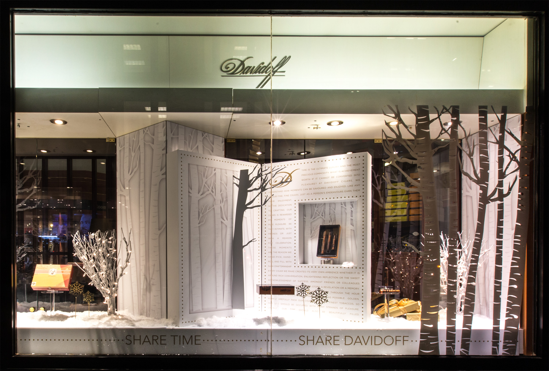 Davidoff Storefront Design