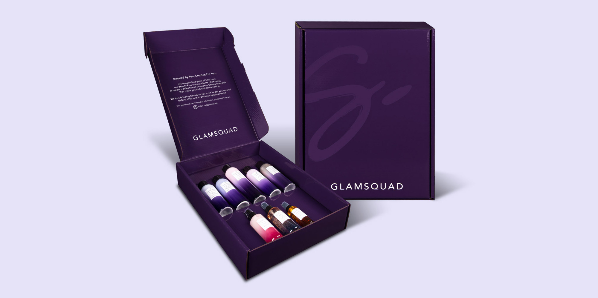Glamsquad Packaging