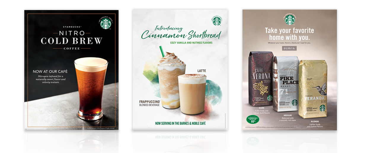 Starbucks Store Post Designs