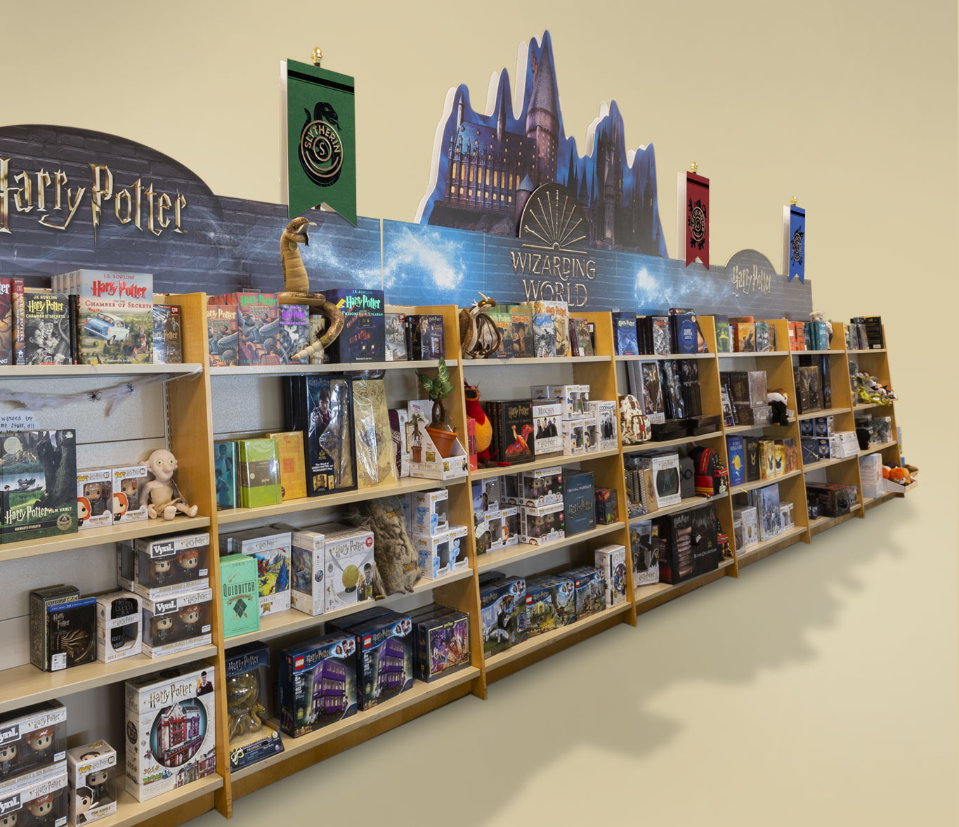 Barnes and Noble Harry Potter Store Display
