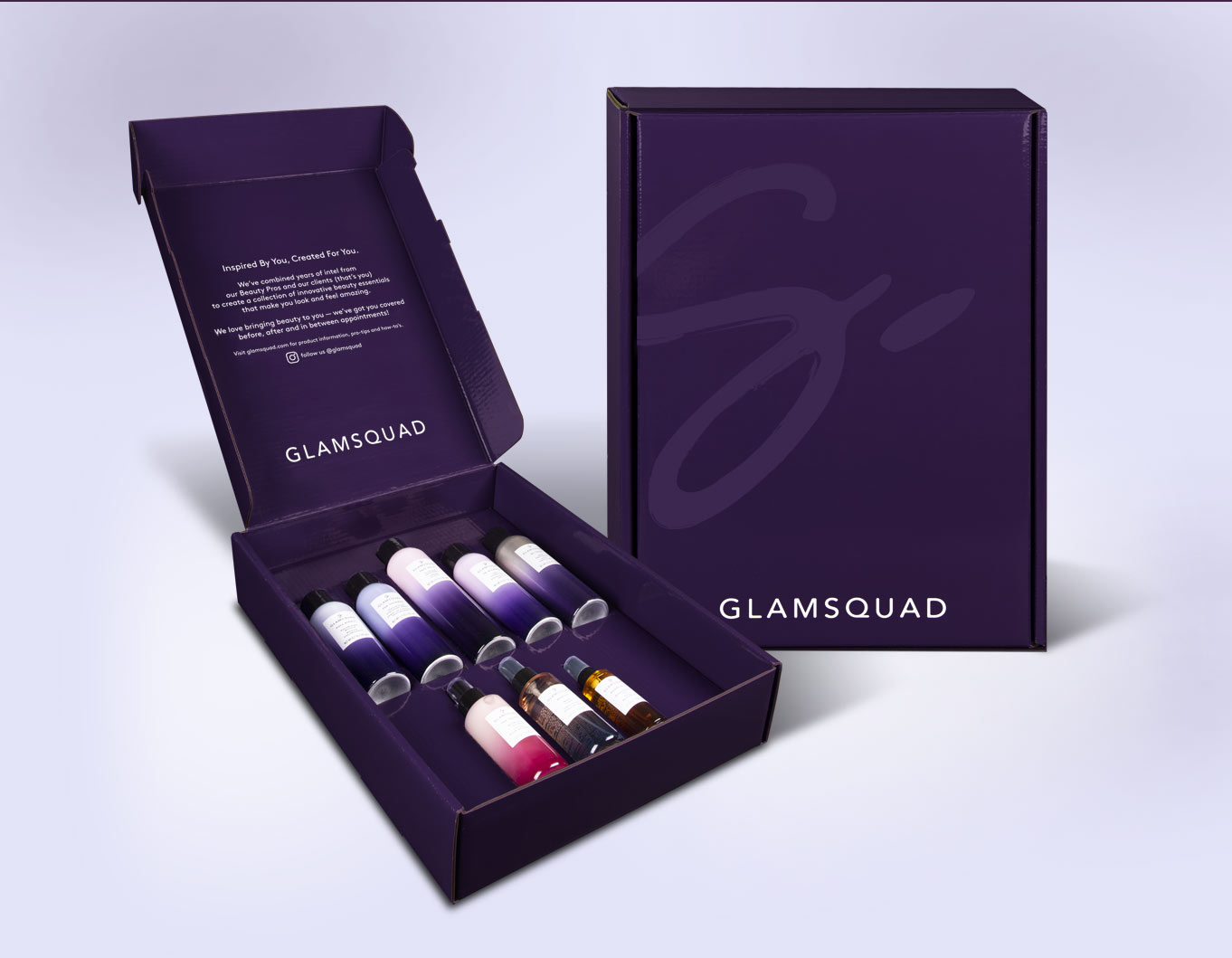 glamsquad luxe product launch